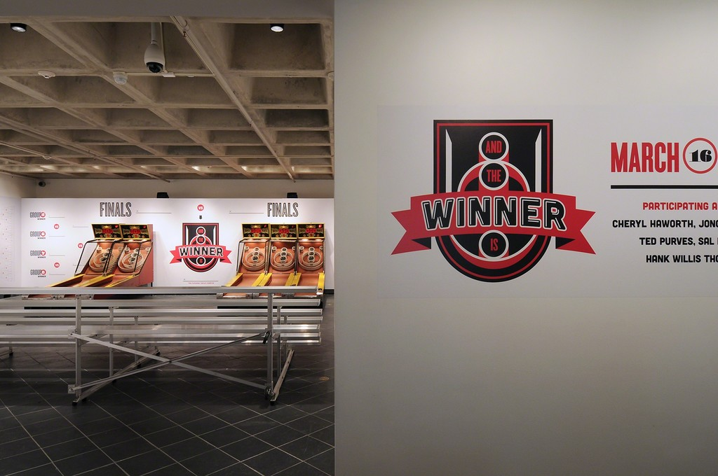 And The Winner Is Nick Kahn. Cantor Fitzgerald Gallery 2012. Photo: Lisa Boughter