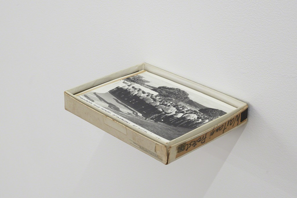 GIl Hanly untitled (from the Bastion Point 82 series) 1982 165mm x 215mm