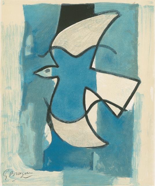, 'L'Oiseau bleu et gris,' 1962, Galerie Boisseree