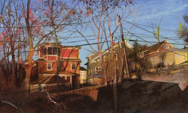 , 'Orchard Hill Street,' 2018, William Baczek Fine Arts