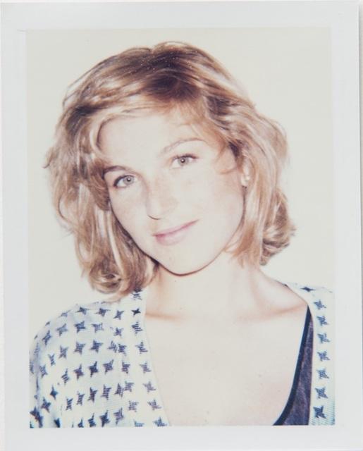 , 'Andy Warhol, Polaroid Portrait of Tatum O'Neal,' 1987, Hedges Projects