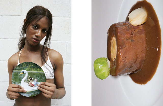 , 'Tschan Andrews, Plates/Teller No. 162 Food No. 93, Hotel Il Pellicano, Plates/Teller No. 163,' 2010, Lehmann Maupin