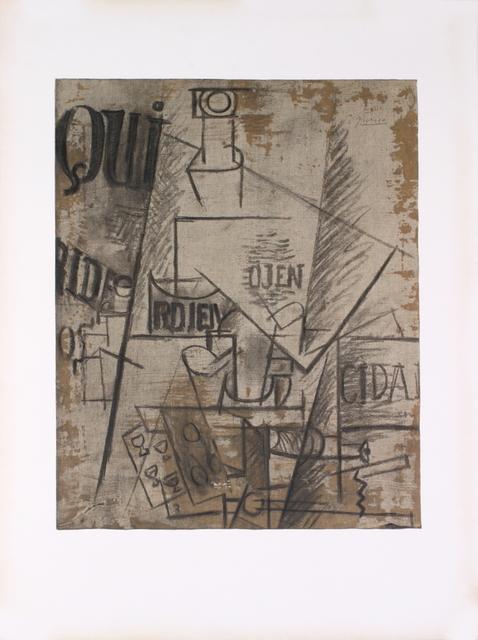 Pablo Picasso, 'Papiers Colles', 1966, ArtWise