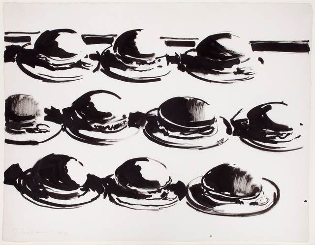 , 'Hamburgers,' 1964, Allan Stone Projects