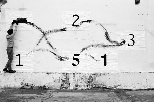 , 'Typing Steps,' 2011, Braverman Gallery