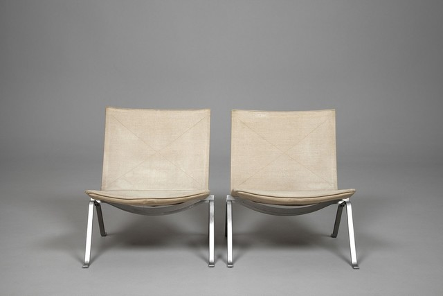 , 'PK-22 Canvas Chairs,' ca. 1950, Jacksons