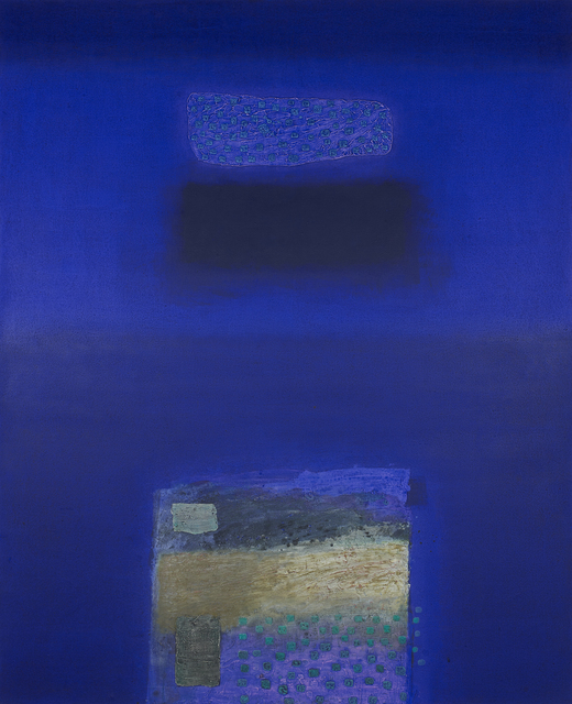 , 'IN BLUE May '96,' 1996, Whitestone Gallery