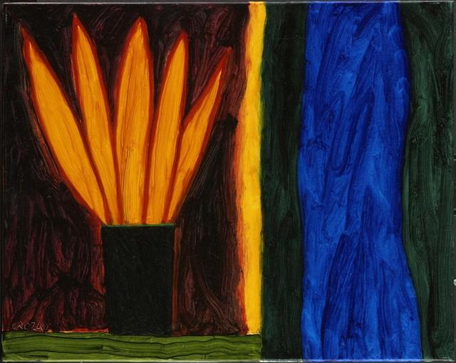 William Crozier, 'The Blue Mirror', 2007, Flowers
