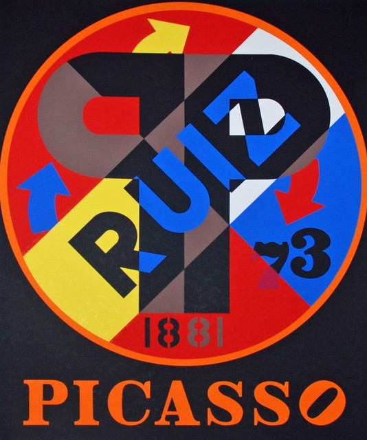 Robert Indiana, 'Picasso', 1997, Georgetown Frame Shoppe