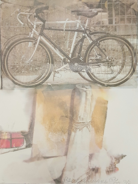 Robert Rauschenberg, 'Untitled (Bicycle)', 1996, Art in General Benefit Auction