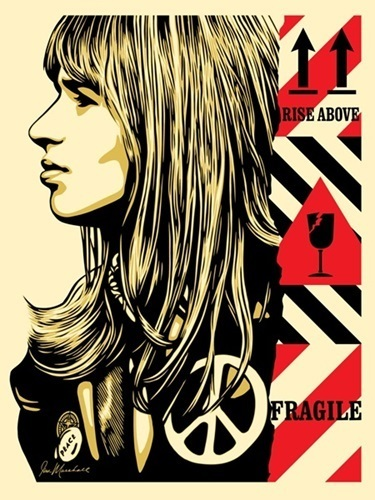 """Shepard Fairey, '""""Fragile Peace""""', 2017, Print, Screen Print On Paper, New Union Gallery"""