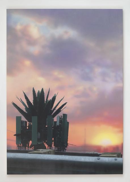 Sayre Gomez, 'Palm Tower', 2019, François Ghebaly