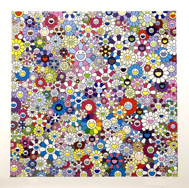 Takashi Murakami, 'Shangri-La, Shangri-La, Shangri-La (Silkscreen)', 2017, Dope! Gallery