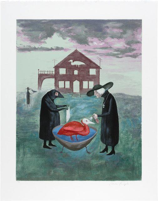 Leonora Carrington, 'Bird Bath', 1974, Doyle