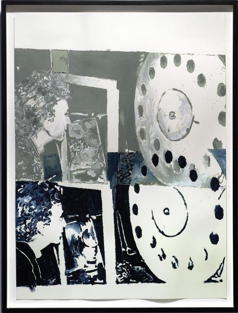 , 'Scan,' 2001, Galerie Mitterrand