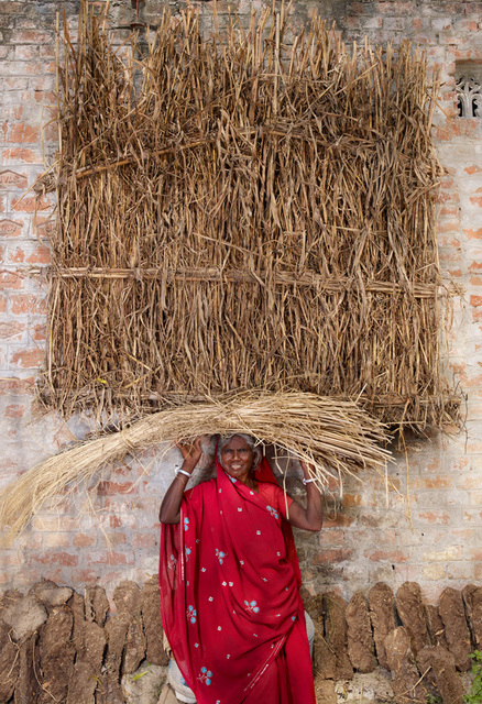 , 'Red-Basanti, India,' 2013, Catherine Edelman Gallery