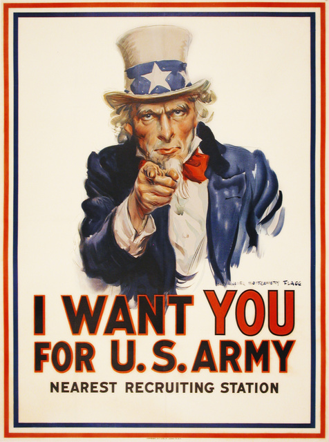 , 'I Want You For the US Army ,' 1917, Omnibus Gallery