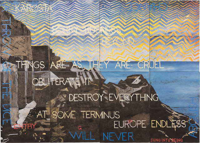Imants Tillers, 'Nature Speaks: GP', 2019, Roslyn Oxley9 Gallery