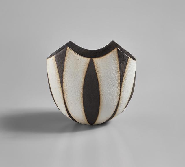 "John Ward, '""Black and White Oval Pot""', circa 1996, Phillips"