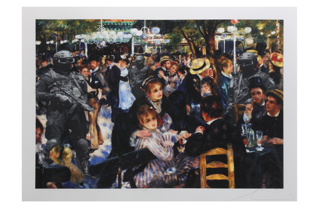Luke Cornish (ELK), 'GIGN at the Moulin de la Galette', Chiswick Auctions