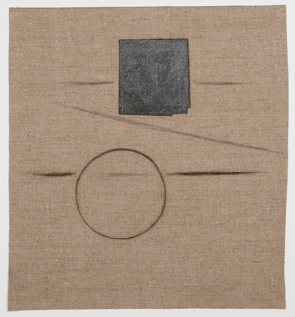 , 'Letters (Drawing on Linen),' n.d., Fleisher/Ollman