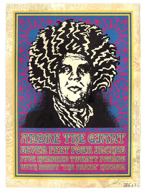 Shepard Fairey, 'Giant Hendrix', 2019, Gastman