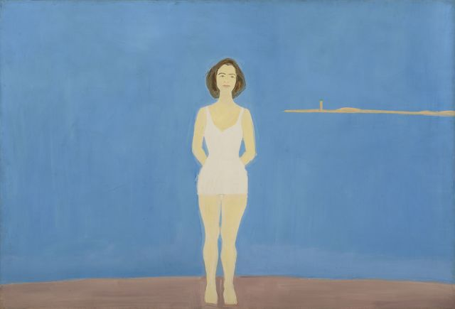 , 'Bather,' 1959, Colby College Museum of Art