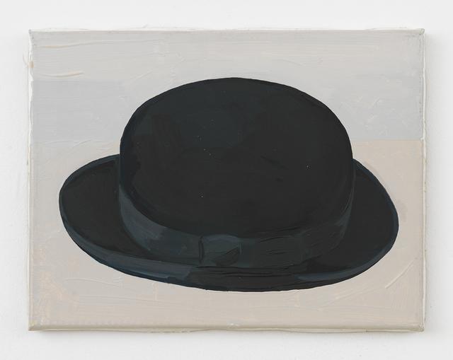 , 'Black Bowler Hat (Side View),' 1988, Johannes Vogt Gallery