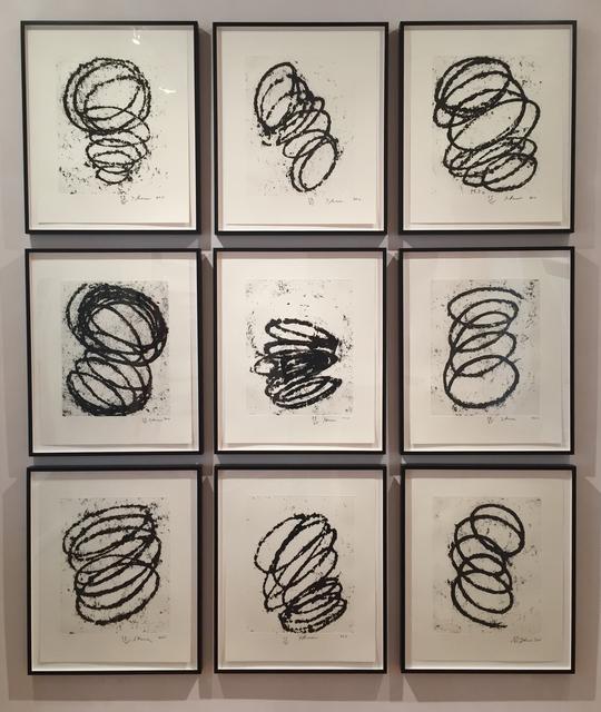 Richard Serra, 'Bights #1-9', 2011, Peyton Wright Gallery