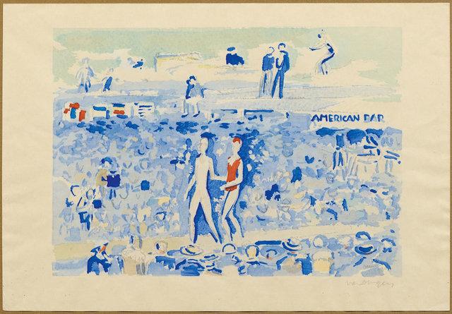 Kees van Dongen, 'Le Gala du Costume de Bain, Deauville', 1930, Koller Auctions