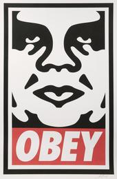 Shepard Fairey, 'Obey Icon,' 2016, Julien's Street Art Now (February 2017)