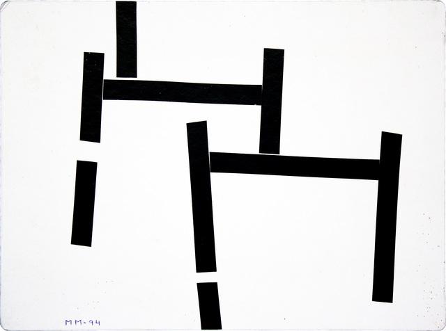 , 'Série Mondrian's Variations,' 1994, Galeria Pilar