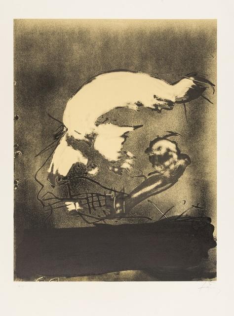 Antoni Tàpies, 'Profil', 1982, Forum Auctions