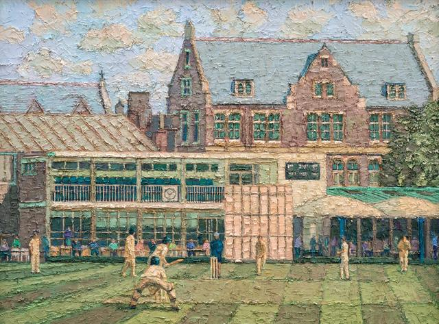 , 'Cricket Match at Emanuel,' 2017, Tanya Baxter Contemporary