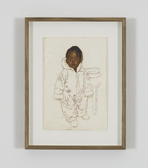 , 'Portrait of Rebecca Choto,' 2018, Tyburn Gallery