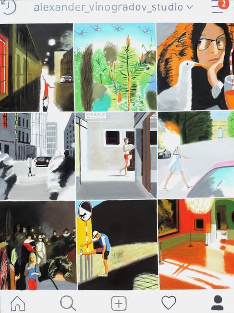 , 'Instagram Oil Canvas,' 2019, Galerie Iragui