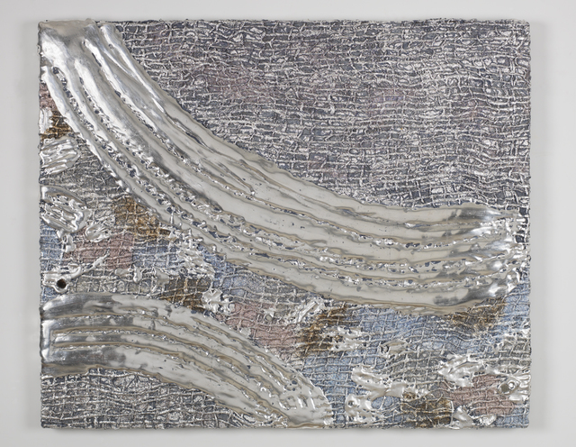 , 'Silver Relief,' 2015, Morgan Lehman Gallery