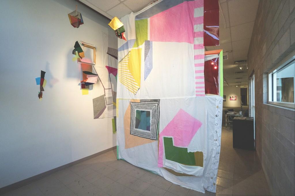 Xuan Chen, Parachute, 2016, variable dimension