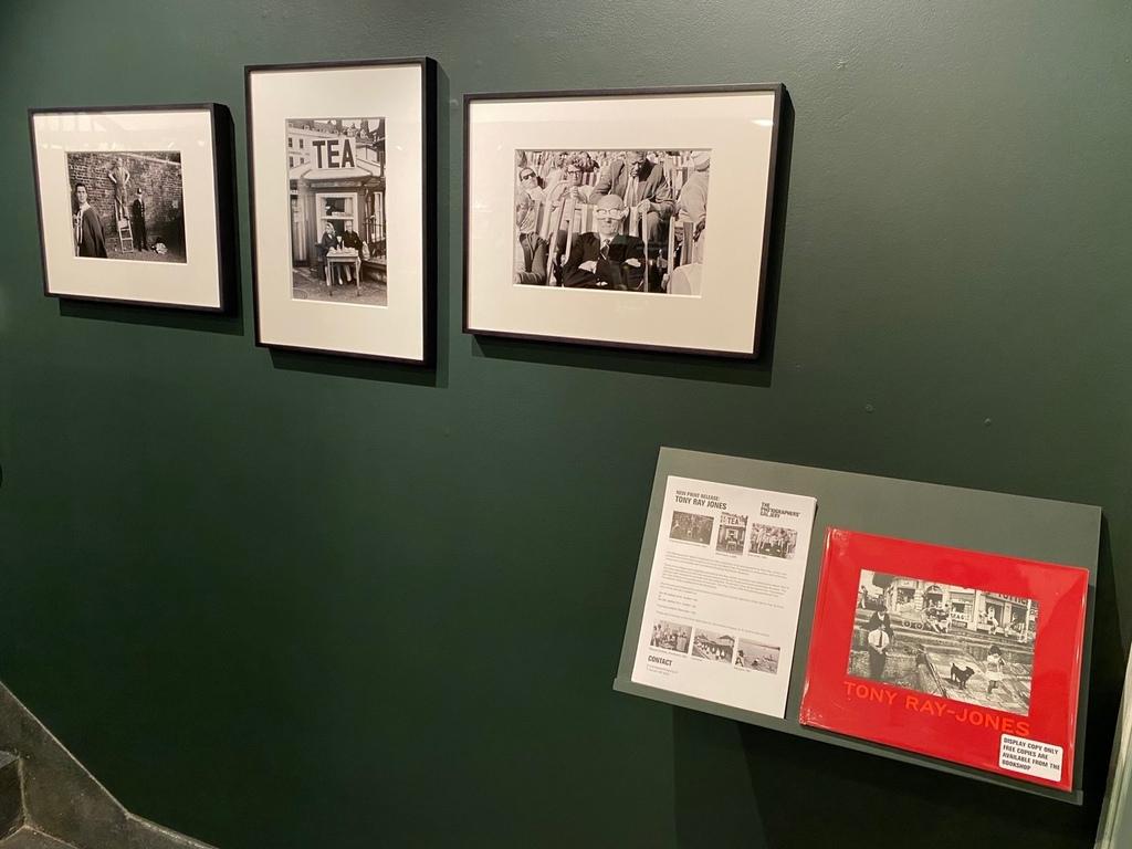 Installation shot of Tony Ray-Jones feature wall (January 2020)