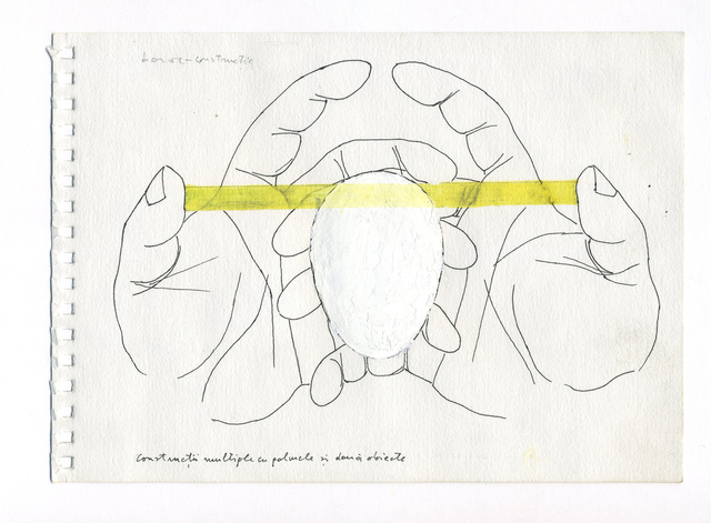 , 'Multiple constructions with hands and two objects,' ca. 1975, Allegra Nomad Gallery