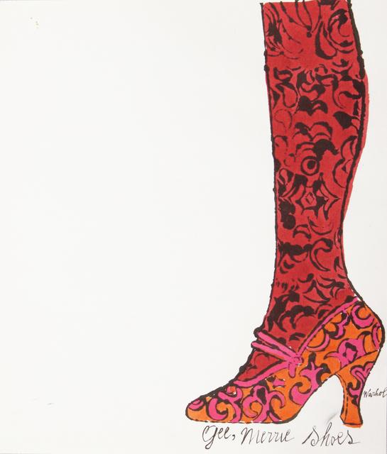 , 'Gee Merrie Shoe ,' ca. 1955, Merritt Gallery
