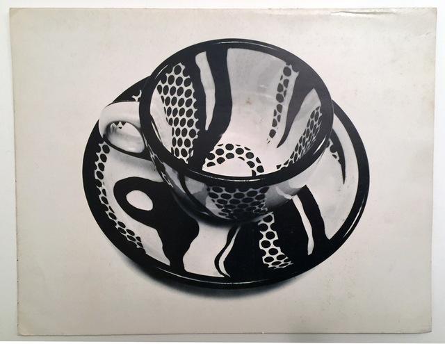 Roy Lichtenstein, 'Dishes by Roy Lichtenstein, Brochure/Mailer October 1st, 1966', 1966, Ephemera or Merchandise, Brochure/Mailer October 1st, 1966, David Lawrence Gallery