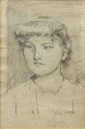 Portrait eines jungen Madchens' (Portrait of a young girl)