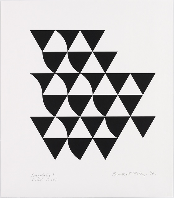 Bridget Riley, 'Bagatelle 3', 2015, Karsten Schubert
