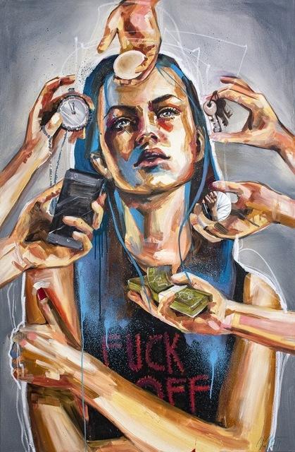 Carola Deutsch, 'Fuck off', 2019, Bakerhouse Gallery