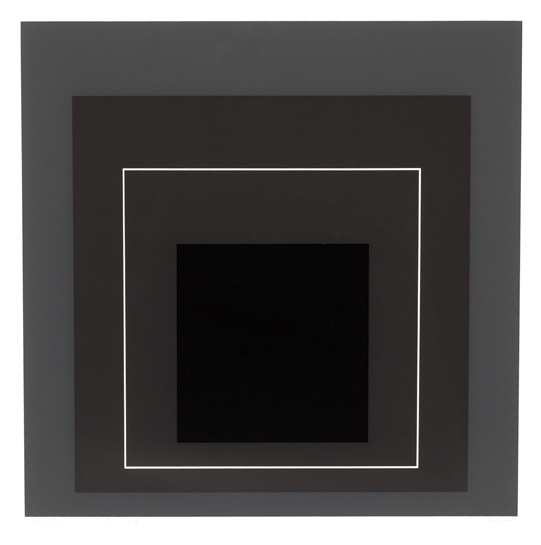 Josef Albers, 'Gray Instrumentation I', 1974, Black Mountain College Museum and Arts Center