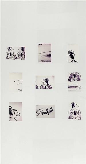 , 'Untitled (Joke: Missing and Presumed Dead),' 1986, Mark Borghi Fine Art