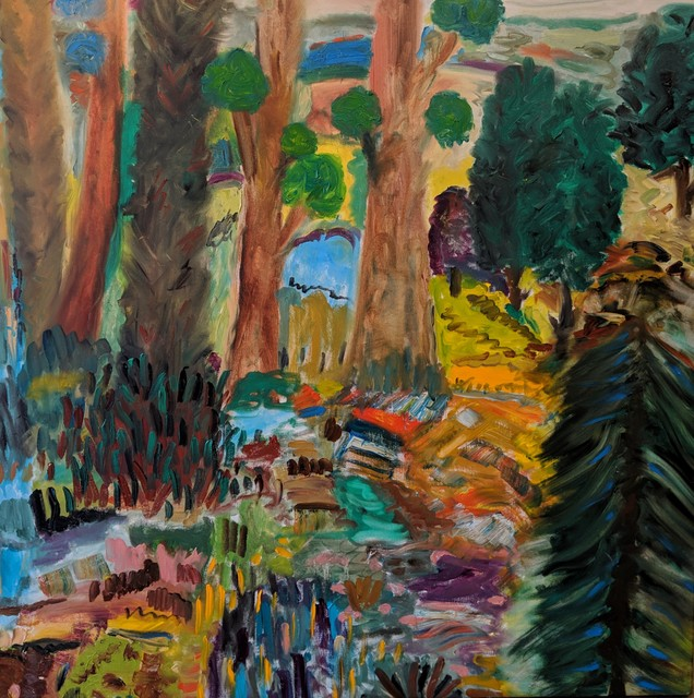 , 'Galilee Forest,' 2017, Lilienthal Gallery