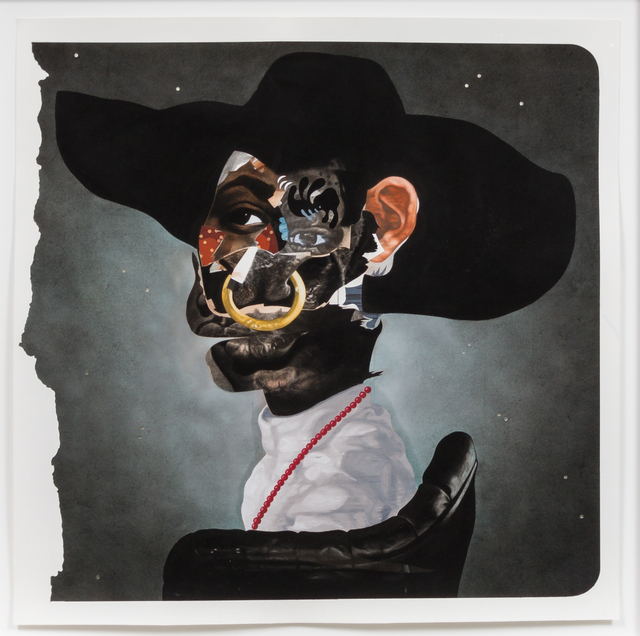 Nathaniel Mary Quinn, 'Junebug ,' 2015, Rhona Hoffman Gallery
