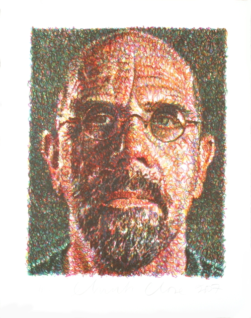 Chuck Close, 'Self Portrait', 2007, ArtWise